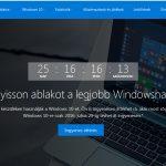 Windows 10 frissítés marketing