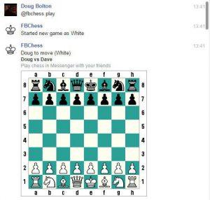 Facebook üzenet küldő sakk